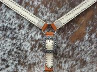 Bling belt style breast collar.